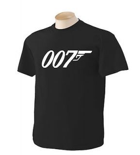 james bond t shirts in Mens Clothing