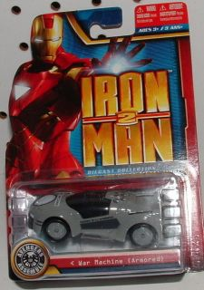 IRON MAN 2 DIE CAST COLLECTION   WAR MACHINE   ARMORED
