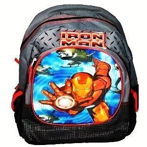 IRON MAN MARVEL HEROS 16 BACKPACK *NEW WITH THE TAGS*