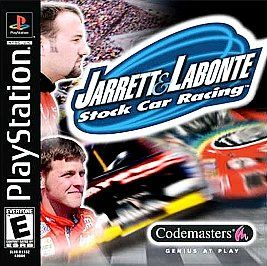 Jarrett and Labonte Stock Car Racing Sony PlayStation 1, 2000