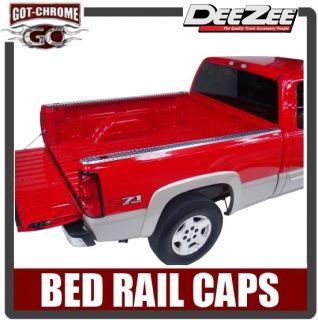 11995 Dee Zee Brite Aluminum Bed Rail Caps Chevy GMC C/K Truck 8 1988