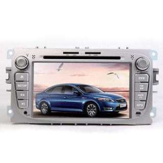 LCD DVD Player FM Radio In Car GPS Navigation for Ford Mondeo iPod