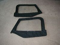 TOP UPPER SKINS 1997 2006 JEEP WRANGLER FRONT WINDOWS (Fits Jeep