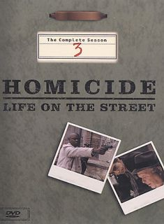 Homicide Life on the Street   The Complete Season 3 DVD, 2003, 6 Disc