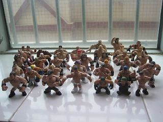 Rare 15pcs/lot Mattel 2010 2012 WWE Rumblers action figure 2.5 inch