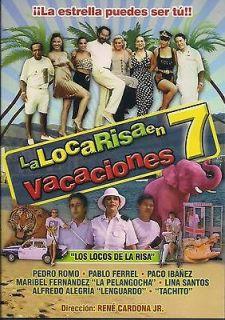 La Risa En Vacaciones #7 DVD NEW Pedro Pablo Y Paco Factory Sealed!