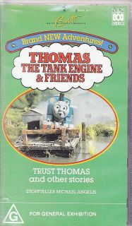 PAL VHS VIDEO THOMAS TANK ENGINE TRUST THOMAS & OTHER STORIES