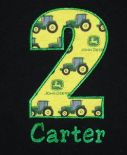 JOHN DEERE CUSTOM BIRTHDAY T SHIRT ALL SIZES AVAILABLE