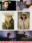 JOHN LENNON BEATLES UNIQUE & RARE (6) PHOTO SET#A