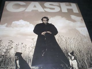 JOHNNY CASH American Recordings vinyl LP unplayed