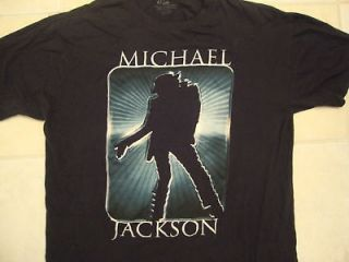 nice MICHAEL JACKSON king of pop beat it T Shirt L
