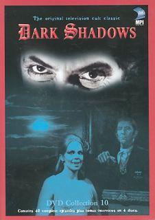 Dark Shadows   Collection 10 DVD, 2004, 4 Disc Set