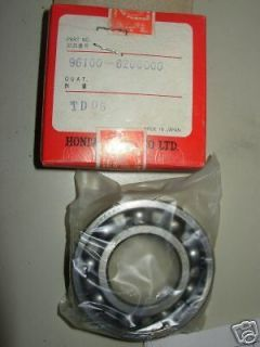NOS Honda Riding Mower Roller Bearing Assembly 96100 620 6000