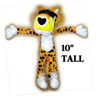 Chester Cheetah Plush Doll Stuffed Animal Toy Cool 10 inches Tall New