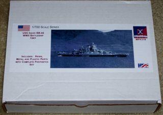 Midship Models USS Idaho BB 42 1941 fit resin + PE model kit 1/700