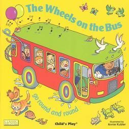 The Wheels on the Bus Go Round and Round (Classic Books With Holes