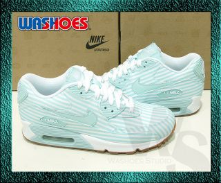 Nike Wmns Air Max 90 Julep Blue White 325213 302 UK 3~6.5 girls 1 95