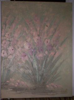 Newly listed Lee Reynolds Painting (Flowers) (Oil on Canvas) (30 x 40
