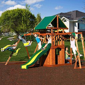 Newly listed NEW! ALL CEDAR OUTDOOR PLAY SET SWING SWING SET WOODEN
