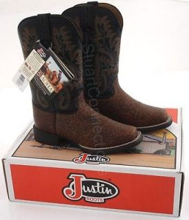 NEW Justin Womens AQHA Foundation Series Boots Size 6 B L4855