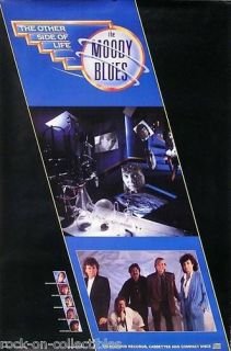 moody blues 1986 other side of life promo poster time