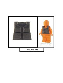 custom lego military army tactical vest for minifig new time