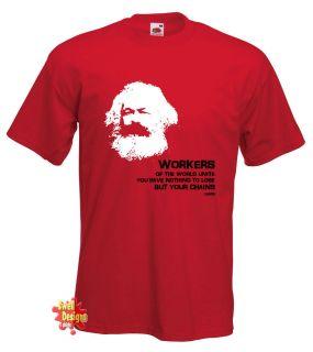 karl marx russia socialist communist ussr t shirt more options size