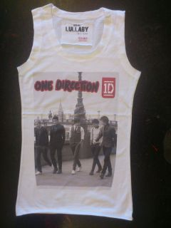 1D THE X FACTOR HARRY STYLES ZAYN MALIK LIAM PAYNE VEST TOP TSHIRT