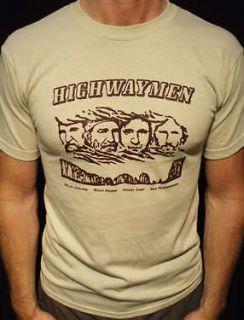 Highwaymen t shirt the vtg tour willie nelson johnny cash waylon