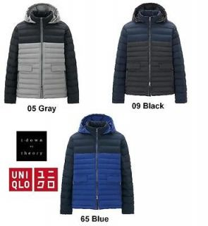 uniqlo men theory x uniqlo premium down jacket from japan