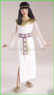 egyptian cleopatra queen of nile child costume small