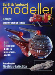 SCI FI & FANTASY MODELLER Vol 20 Knight Rider Galactica Thunderbirds