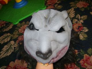 Big Bad Wolf grouchy evil scary adult size Halloween costume mask