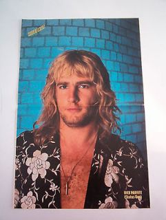 STATUS QUO Poster / Pin Up 17 x 11 magazine centerfold   Rick in