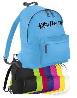 love KATY PERRY girls school bag backpack pink purple red black lime