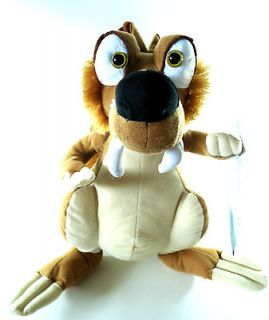 NEW!!! ICE AGE CONTINENTAL DRIFT SCRAT TOY FACTORY SUGAR LOAF PLUSH