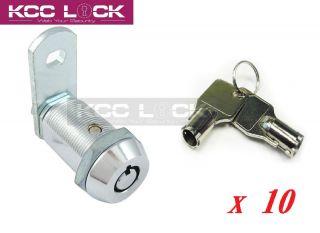 Lot of 10 Cabinet Cash Door Arcade Machine Tubular Cam Lock Key alike