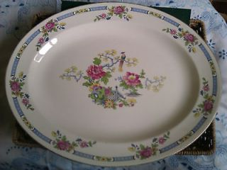 VINTAGE TSING BCM LORD NELSON WARE,LARGE PLATTER,FAIR CONDITION,REGD