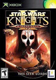 Wars Knights of the Old Republic II The Sith Lords Xbox, 2004