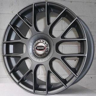 18x7.5 Machined Black Wheel Cruiser Alloy Shadow 5x4.5 5x120 (Fits