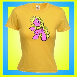 RETRO CARTOONS MY LITTLE PONY T SHIRT ALL SIZES COLOURS AVAILABLE