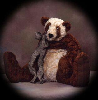 Copper Teddy Bear Panda** PATTERN** by Judi Lynn Designs PATTERNS
