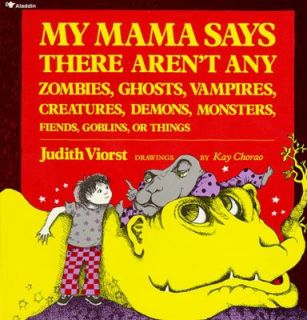 , Monsters, Fiend by Judith Viorst 1987, Picture Book, Reprint