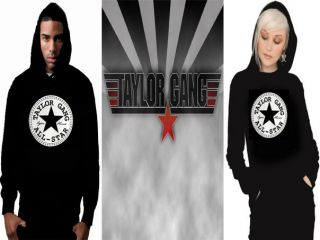 NEW TAYLOR GANG ALL STAR WIZ KHALIFA PRINT HOODIE ALL SIZES & COLOURS