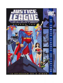 Justice League Unlimited   The Complete Second Season DVD, 2007, 2
