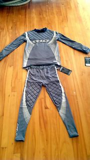 Newly listed TPS R10 REPONSE ARMOUR SR GOALIE TWO PC FIT SUIT PERFORM
