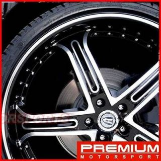 24 inch rims wheels VERSANTE VE226 RIMS DODGE MUSTANG SIERRA CADILLAC