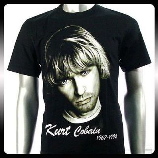 nirvana kurt cobain rock punk alternative t shirt sz xl