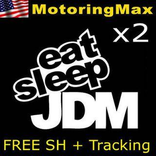 JDM Import Rally Drift Race Car Vinyl Decal Stickers (Fits Kia Soul