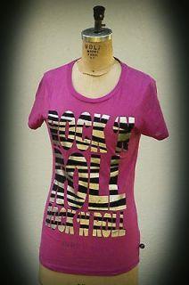 Abbey Dawn Avril Lavigne Double Metallic Zebra Rock N Roll T Shirt
